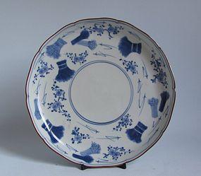 Ai Kakiemon Inamura Dish circa 1700 No 1