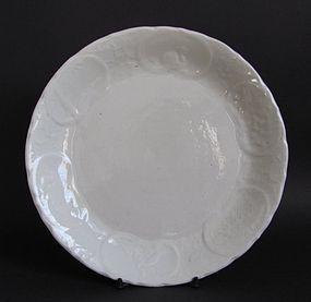 Rare Kakiemon Moulded Dish circa 1660