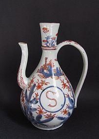 Fine Imari Export Soy Ewer c.1700