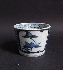 Ko Imari Hasami Soba Choko c.1780