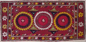 A vintage Uzbek embroidery from early 20th century