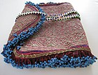 A vintage beaded purse from Ghazni, Afghanistan