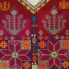 A child's dress front from Gardez, mid 20th century
