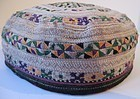 A vintage Turkman Yomut cap from Herat, Afghanistan