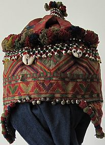 A child's hat from Indus Kohistan, Pakistan