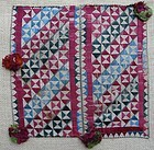 A Pashtun silk napkin from Afghanistan
