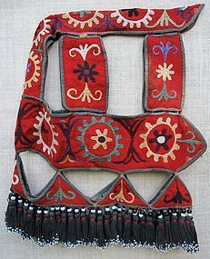 A Lakai Uzbek horse headcover - northern Afghanistan