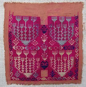 A vintage textile from Jaghori province