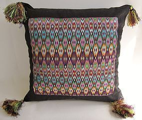 A contemporary cushion cover from Afghanistan