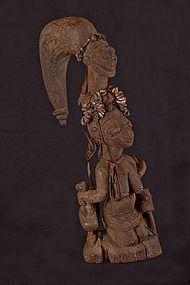 Old Yoruba figure, Nigeria, Africa