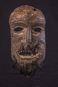 Wild primitive mask, Nepal Himalaya