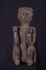 Super antique himalayan primitive figure, Nepal,