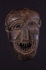 Primitive mask with sharp teeth, Himalaya, Nepal