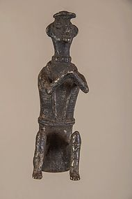 Antique shamanic figure n°14, Nepal , Himalaya