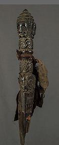 Antique shamanic Phurba N° 61, Himalaya, Nepal