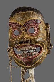 Bouddhist himalayan Mask, Tibet, Nepal