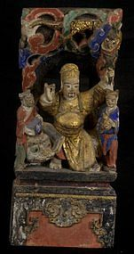 Antique Chinese deity, China