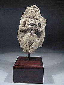 Mesopotamian Clay Figure of Astarte, 1800-1500 BC.
