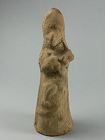 Mesopotamian Clay Figurine, c. 1000 BC.
