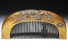Meiji Period Japanese Geisha Hair Comb Accessory #70