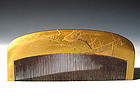 Meiji Period Japanese Geisha Hair Comb Accessory #76