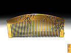 Meiji Period Japanese Geisha Hair Comb Accessory #77