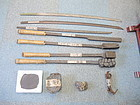 Rare Japanese Katana sword manufacturing process set