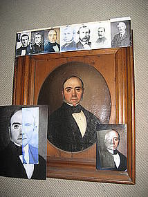 John D. Rockefeller's Portrait by Lambdin