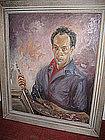 Self-Portrait of Roy Lichtenstein as Pablo Picasso