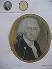 Late 18th Century Miniature of George Washington