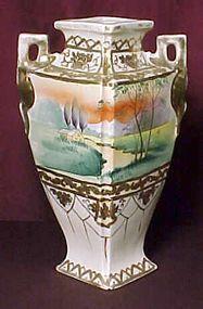 Old Japanese Nippon Style Vase