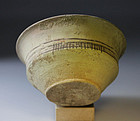 Rare median or achaemenid carinated pottery bowl!