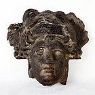 Roman Bronze Head of Minerva - First Century AD