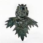 Bronze Roman God of Wine - Dionysus - Bacchus - C.1st - 3rd Century