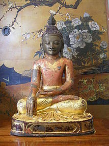 AVA 3-Seasons Bronze Buddha, 18th Century