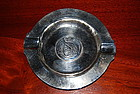 SWISS Silver Ashtray w. RESPUBLICA BERNENSIS Coin
