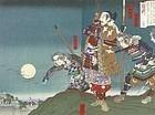 TOYONOBU UTAGAWA, TOTTORI'S CASTLE BEFORE THE ATTACK