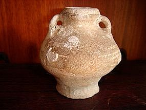 15th Century Sukhothai Ceramic Mini Vase w. loops