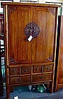 Chinese Wooden Cabinet made with inward sliding doors