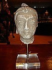 Gandhara Stucco Head of Buddha, 3/4th Century A.D.