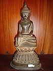 Bronze Shan State Buddha on Lotus Base 18/19th Cent.