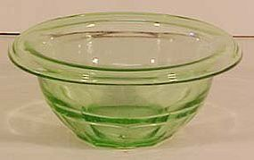 Hazel Atlas Green Mixing Bowl 5-3/4