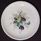 "Westmoreland Fruits Beaded Edge 7"" Plate, Black  Berry"