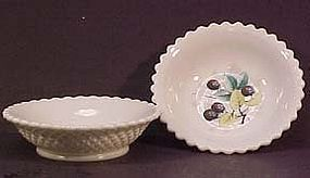 Westmoreland Fruit Beaded Edge Berry Bowl