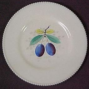 Westmoreland Fruit Beaded Edge Plum Dinner