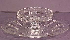 Heisey Colonial Panel Cheese & Cracker Dish