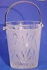 Fenton San Toy Etched Ice Bucket