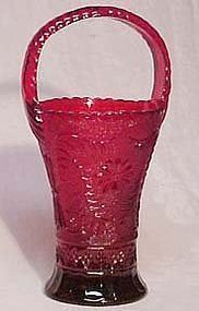 Indiana Tiara Red Sandwich Basket