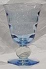 Tiffin Copen Blue Vase