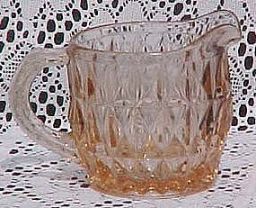 Jeannette Windsor Diamond Pink Creamer